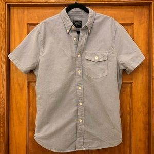 Abercrombie & Fitch Short Sleeve Button Up